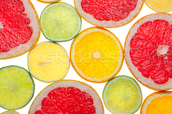 Citrus food background Stock photo © karandaev