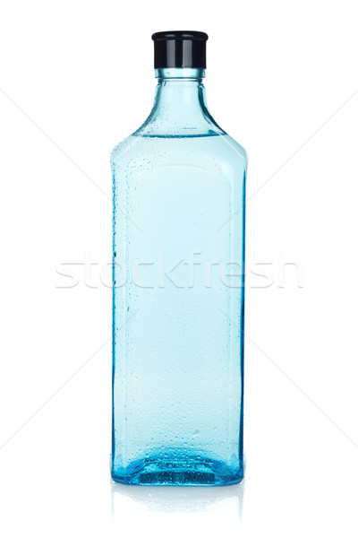 Glass gin bottle Stock photo © karandaev