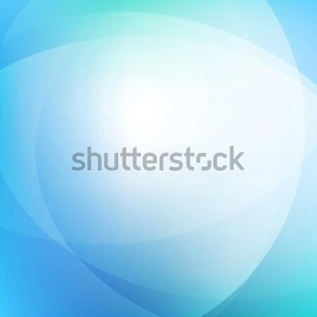 Azul luz gradiente abstrato projeto papel de parede Foto stock © karandaev