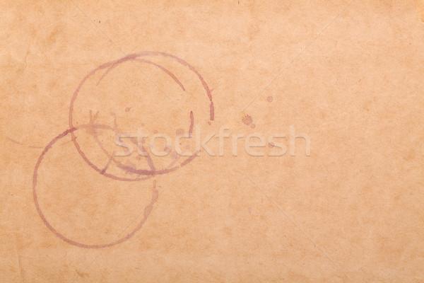 вино грубая оберточная бумага копия пространства бумаги текстуры Сток-фото © karandaev