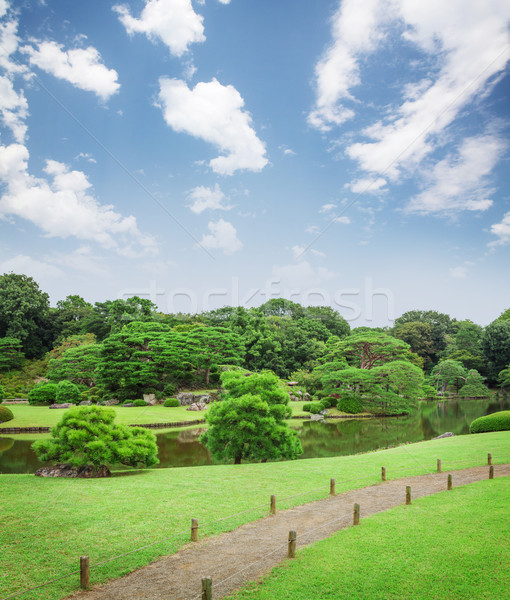 Japan garden Stock photo © karandaev