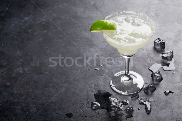 Margarita cocktail Stock photo © karandaev