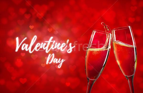 Happy Valentine's Day Stock photo © karandaev