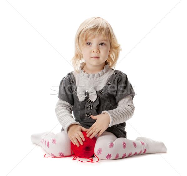 Baby girl Stock photo © karandaev