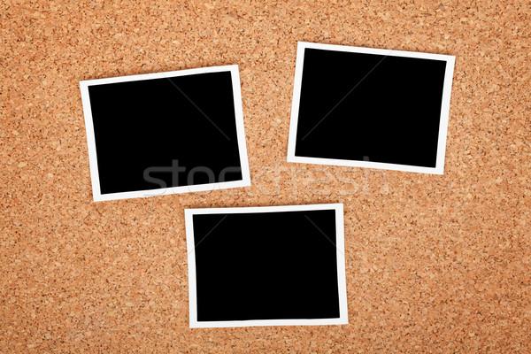 Polaroid photo frames Stock photo © karandaev