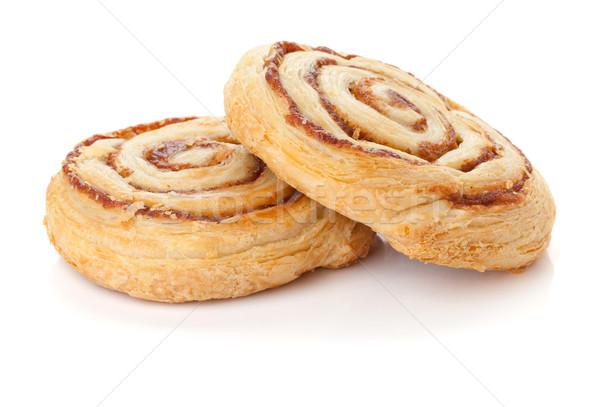 Two sweet buns Stock photo © karandaev