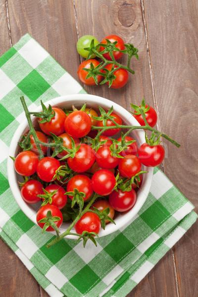 Cherry tomatoes Stock photo © karandaev