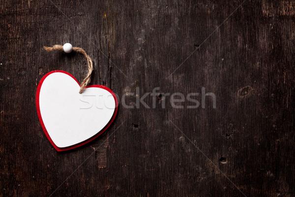 формы сердца копия пространства сердце Сток-фото © karandaev
