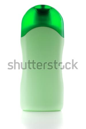 Verde shampoo bottiglia isolato bianco corpo Foto d'archivio © karandaev