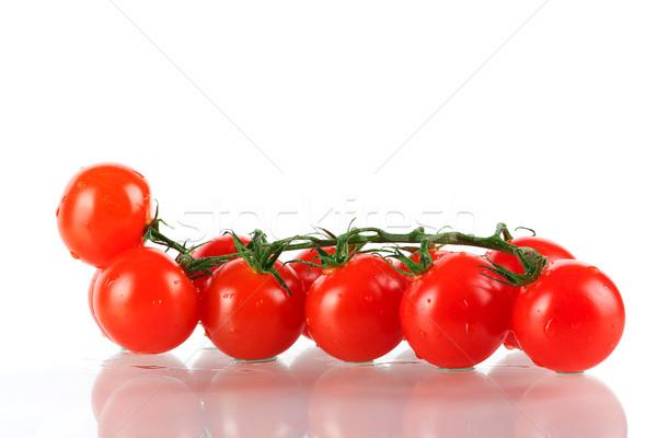 Fresh cherry tomatos Stock photo © karandaev