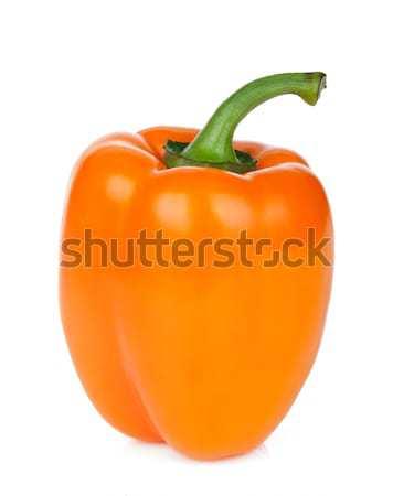 Orange bell pepper Stock photo © karandaev
