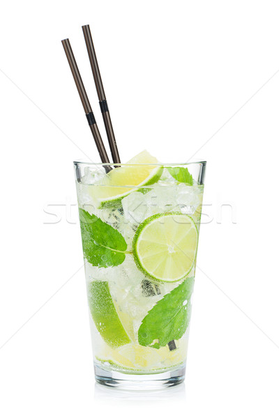 Fresh mojito cocktail Stock photo © karandaev