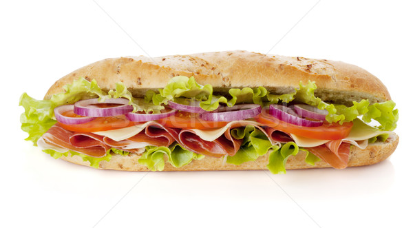 Stock photo: Long sandwich