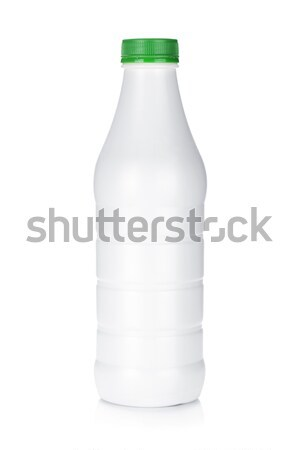 Plastic bottle of diary product Stock photo © karandaev