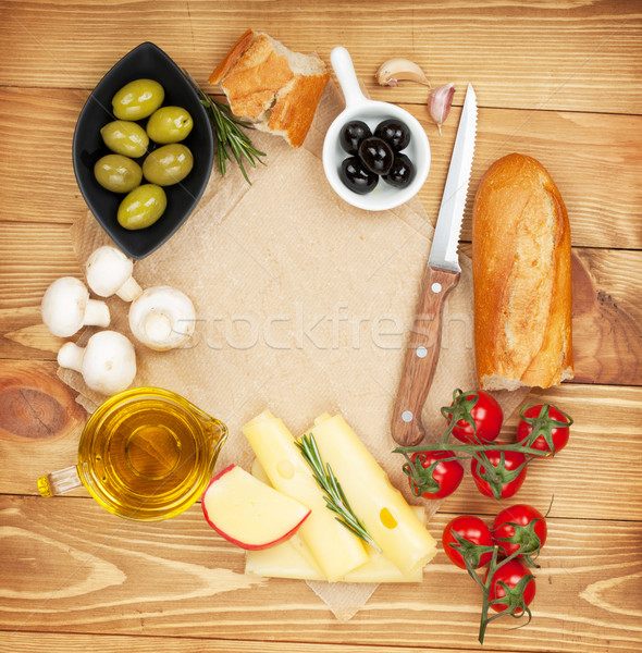 Cooking paper for copy space and food Stock photo © karandaev