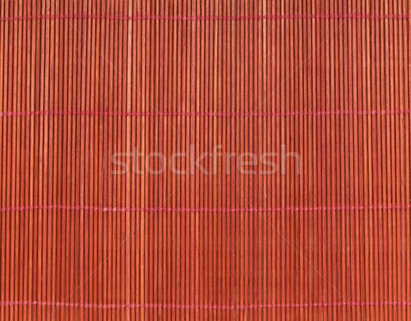 Японский приготовления бамбук таблице копия пространства продовольствие Сток-фото © karandaev