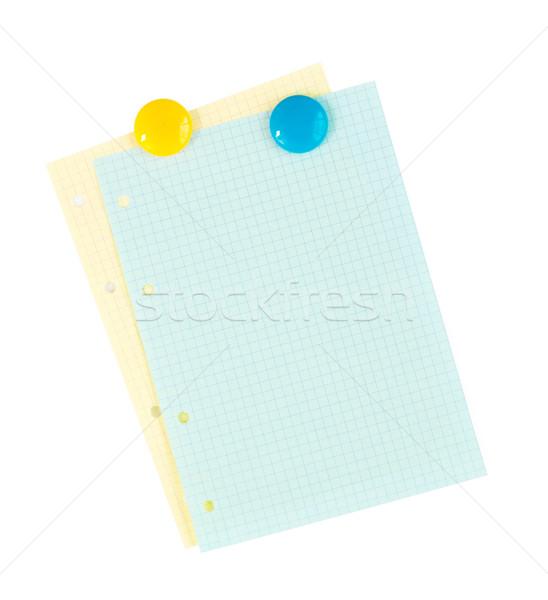 Office lined paper Stock photo © karandaev