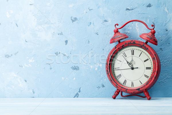 Christmas alarm clock Stock photo © karandaev