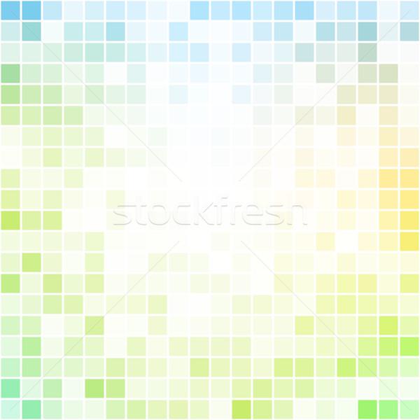 Abstract colorful pixel background Stock photo © karandaev
