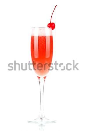 Champagne glass Stock photo © karandaev
