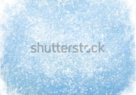 Bleu la texture du bois neige Noël texture bois Photo stock © karandaev