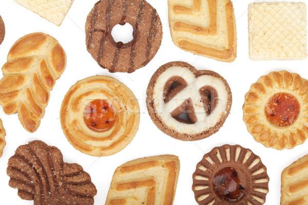 Various cookies pattern Stock photo © karandaev