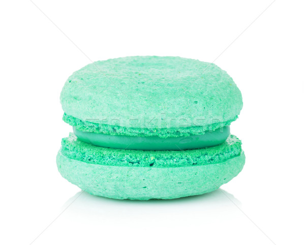 Aquamarine color macaron Stock photo © karandaev