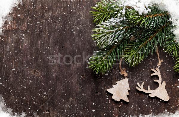 Navidad decoración edad textura Foto stock © karandaev