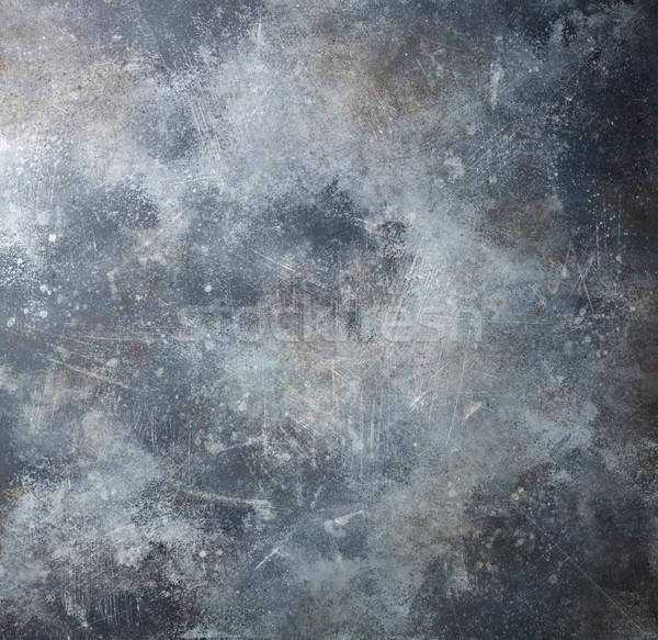 Arrugginito metal texture vecchio texture muro abstract Foto d'archivio © karandaev