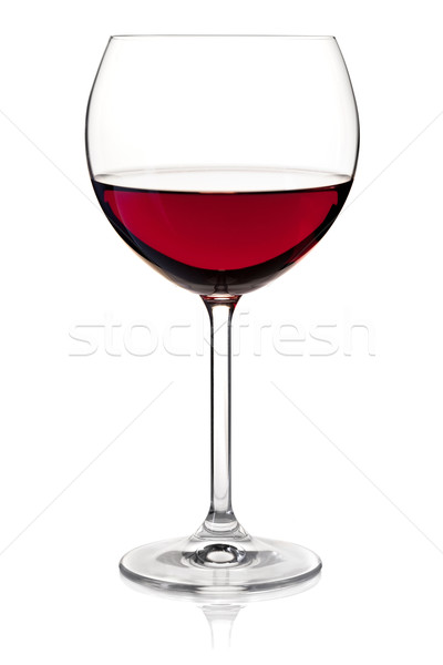 Stock photo: Wine collection - Red wine in glass