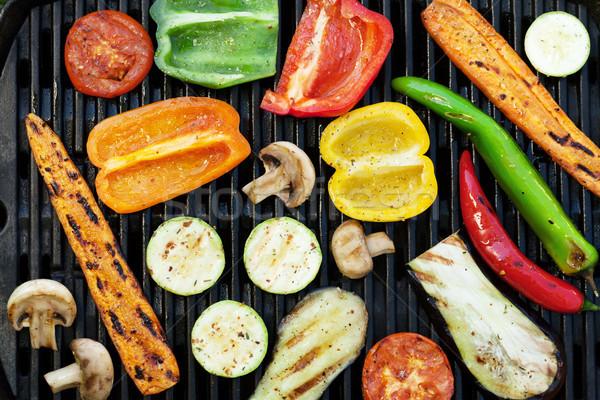 Grilled vegetables Stock photo © karandaev
