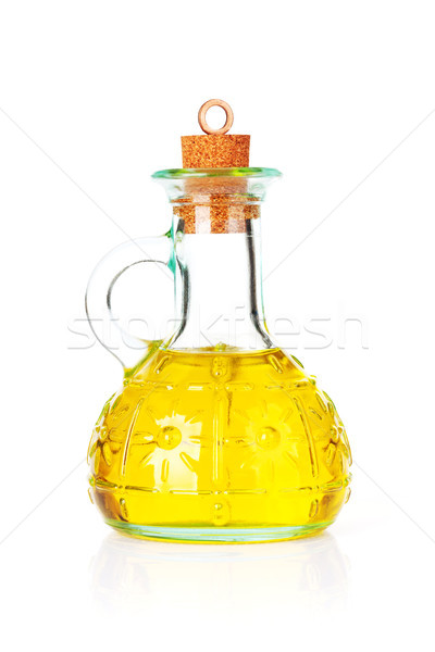 Olive oil bottle Stock photo © karandaev