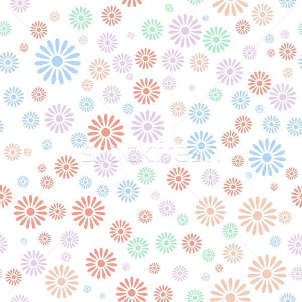 Bloem kleurrijk textuur voorjaar Stockfoto © karandaev