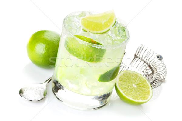 Clássico coquetel salgado beber utensílios Foto stock © karandaev