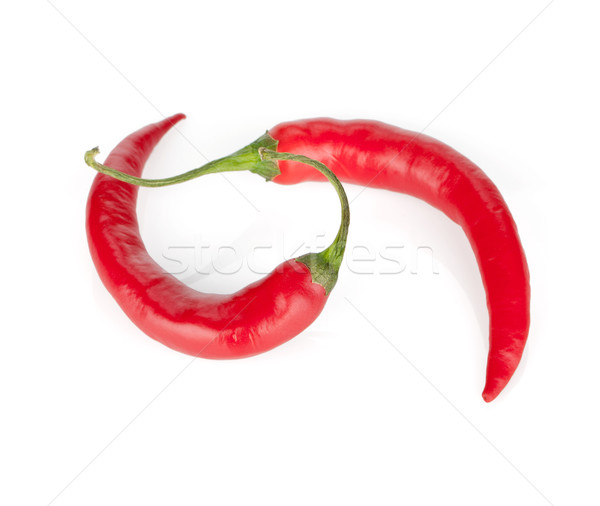 Red hot chili peppers Stock photo © karandaev