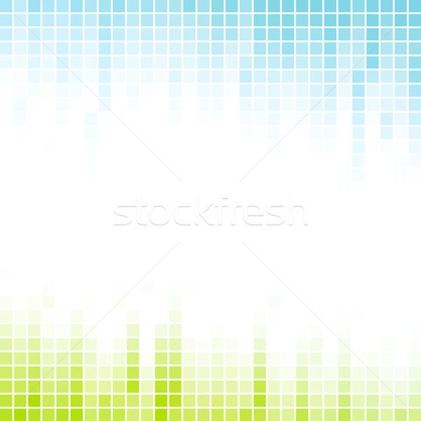 Abstract mozaiek helling kleurrijk business Stockfoto © karandaev