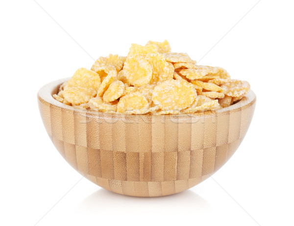 Fresh corn flakes Stock photo © karandaev