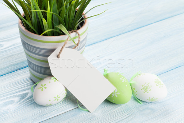 Ovos de páscoa membro cópia espaço páscoa Foto stock © karandaev