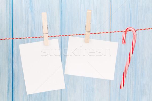 Christmas photo frames Stock photo © karandaev