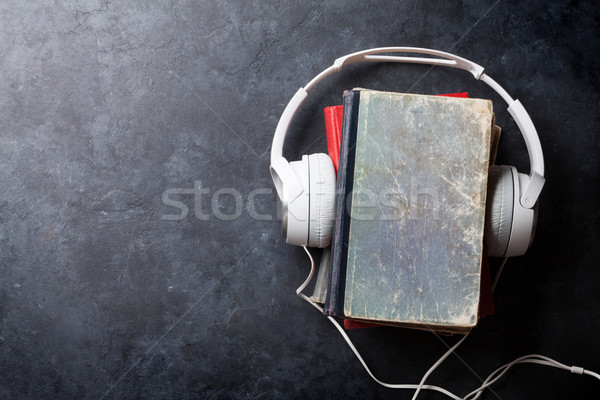 Audio book concept Stock photo © karandaev