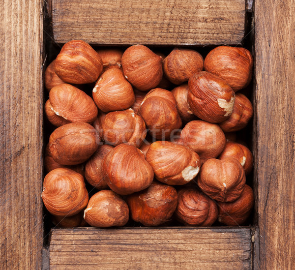 Stock photo: Chestnut nuts
