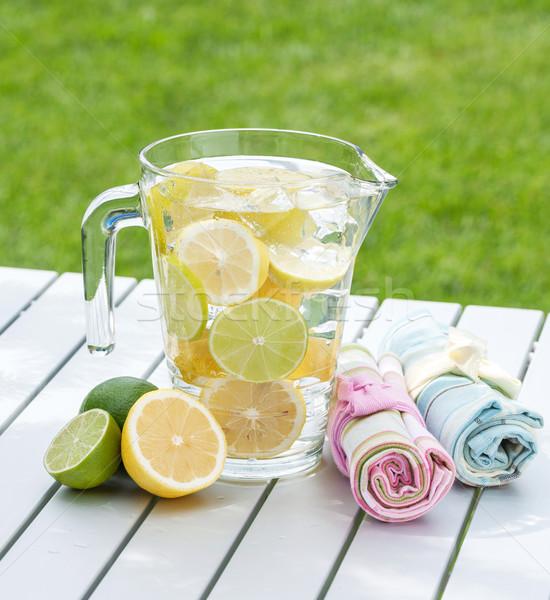 Homemade lemonade Stock photo © karandaev