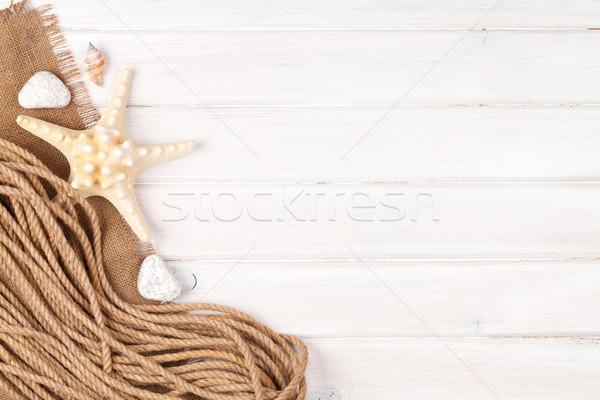 Сток-фото: лет · время · морем · отпуск · звездой · рыбы