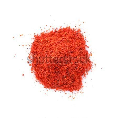 Piros piros paprika izolált fehér főzés stúdió Stock fotó © karandaev