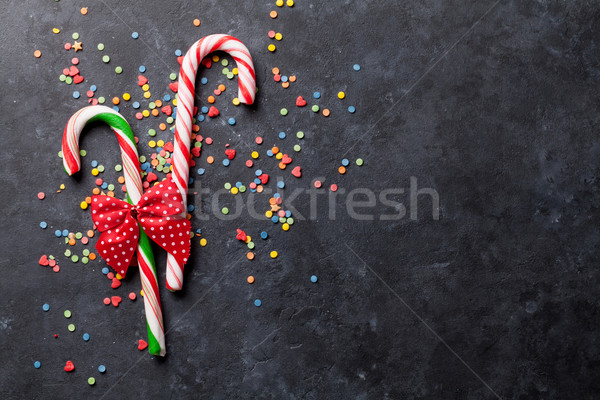 Stock photo: Candy canes