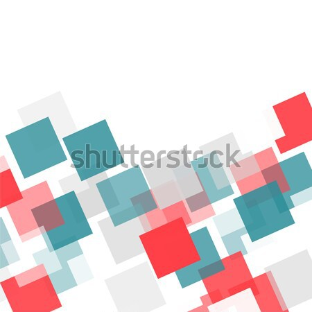 Abstract square mosaic background Stock photo © karandaev