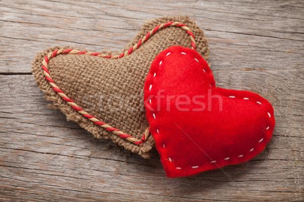 Valentines day toy hearts Stock photo © karandaev