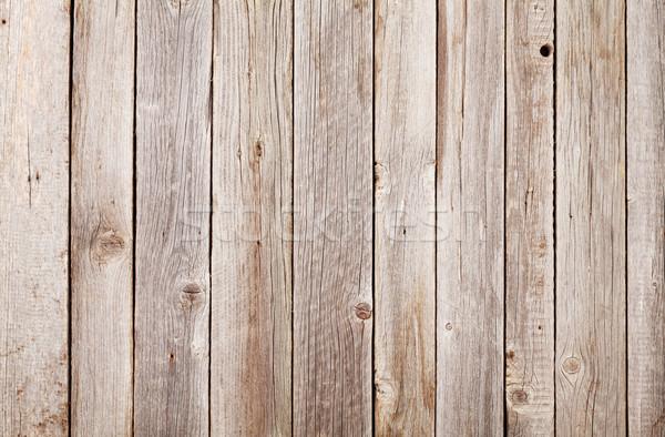 古い木材 壁 テクスチャ オフィス ホーム 背景 ストックフォト © karandaev