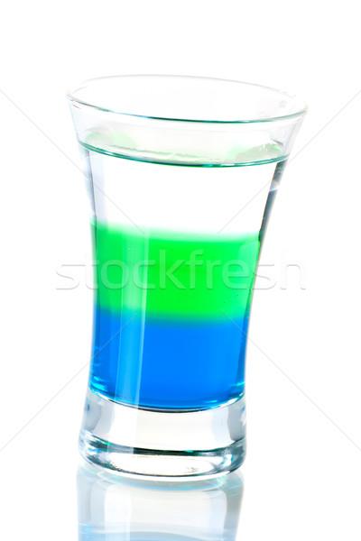 Shot cocktail collection: Anabolic Stock photo © karandaev