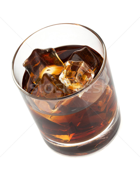 Whiskey cola cocktail Stock photo © karandaev
